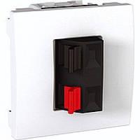Розетка Schneider-Electric Unica аудио белый (MGU3.486.18)