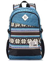 Рюкзак молодежный, школьный в этно стиле.