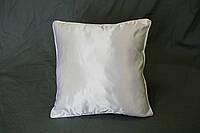 Подушка квадрат кант белый