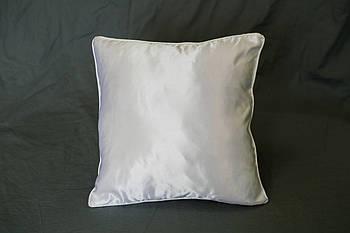Подушка квадрат кант білий