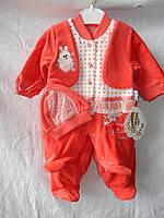 Детский костюм, на флисе, на девочку 001/ купить детский костюм оптом со склада