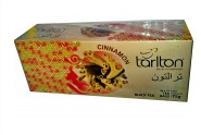 "Черный чай TM Tarlton ""Корица"" пакетированный 3х25"