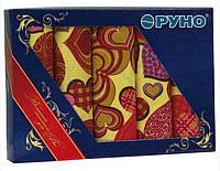 Набор кухонных полотенец Руно в подарочной упаковке Сердечко 45х80 5шт