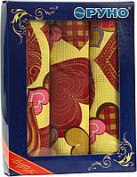 Набор кухонных полотенец Руно в подарочной упаковке Сердечко 35х70 3 шт