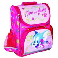 """Ранець шкільний каркасний Cool For School 14"""", Tom and Jerry, модель 600 для дівчаток арт. TJ02811"""