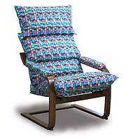 Кресло SuperComfort Дизайн Орех Тиссаж 01