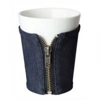 """Чашка """"В Джинсах"""" в джинсовой одёжке"""
