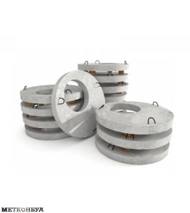 Плита перекрытия колодца,1ПП15-2,бетонная крышка на колодец 1ПП15-2,бетонная крышка для колодца 1,5м, фото 2