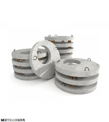 Плита бетонная 1ПП15-2, фото 2