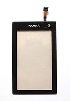Оригинальный тачскрин / сенсор (сенсорное стекло) для Nokia 5250 (черный цвет)