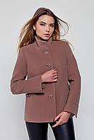 Пальто  женское демисезонное короткое полупальто