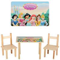 Столик с двумя стульчиками  F065 Disney