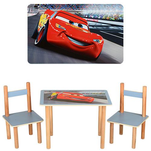 Столик с двумя стульчиками F062 Тачки