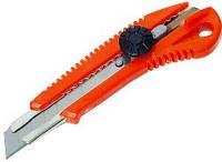 Нож с крутящимся фиксатором упрочненный Favorit (13-215) 18мм (шт.)