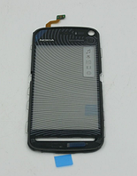Оригинальный тачскрин / сенсор (сенсорное стекло) для Nokia 5800 (черный цвет)