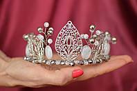 "Корона, диадема из кварца и горного хрусталя ""Цветок лотоса"""