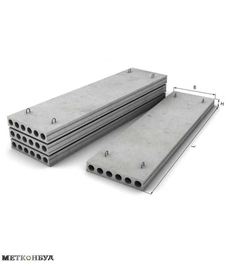 Плиты перекрытия ПК 58-12-12,5