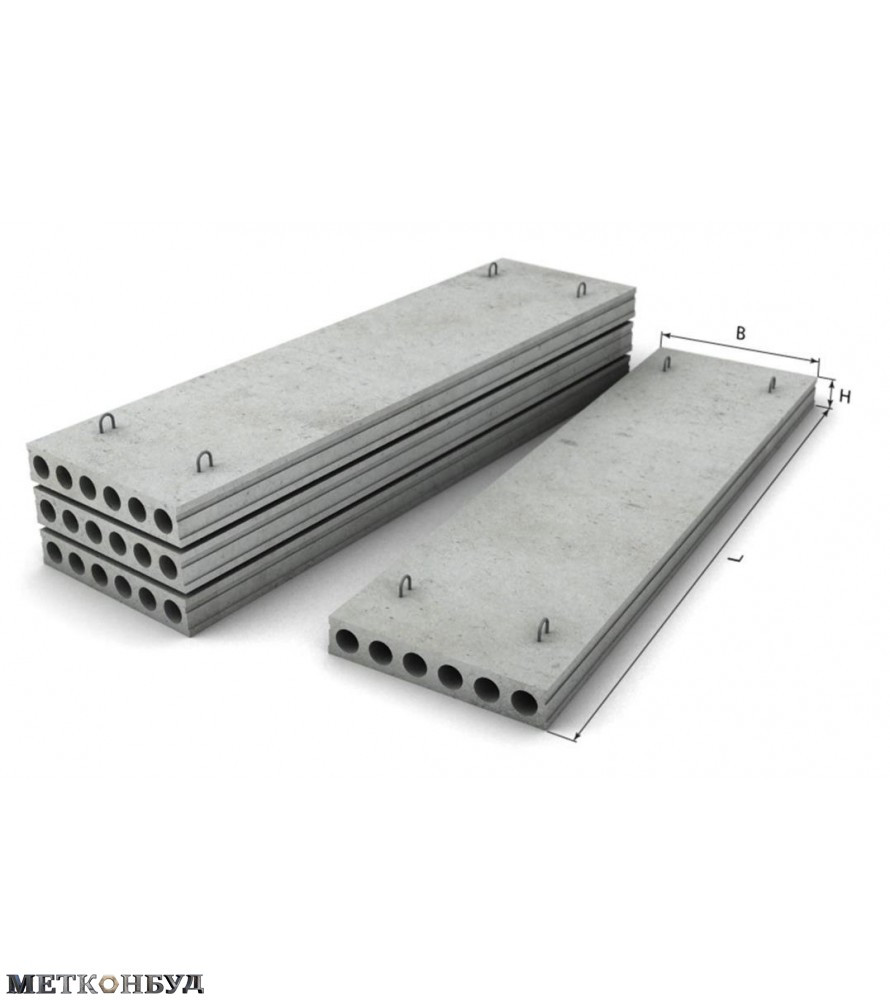 Плиты перекрытия ПК 81-12-8