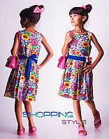 Детское платье Геометрия