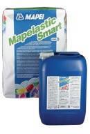 Гидроизоляционная высокоэластична цементная мембрана  Мапеластик Смарт / Mapelastic Smart ( комплект 30 кг)