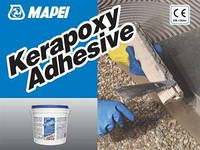 Клей эпоксидный Керапокси Адгезив серый / Kerapoxy Adhesive Grigio (уп.10 кг)