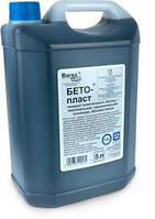 Пластификатор в бетон и для стяжки теплого пола Бето-Пласт (уп. 5 л)