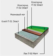 Полиуретановое эластичное связующее Клей П 01 Премиум (уп. 215 кг)