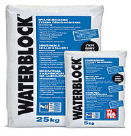 Гидроизоляционная обмазочная смесь Ватерблок  / VATERBLOCK cерый (уп. 25 кг)
