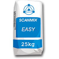 Клей на цементной основе, для  укладки кафеля на стены, для внутр.и наруж.SCANMIX EASY / Сканмикс ИЗИ (25 кг)