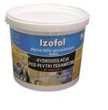 Дисперсионная гидроизоляционная плёнка, мембрана Изофоль / Izofol  (уп. 12 кг)
