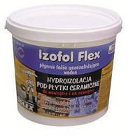 Полимерная гидроизоляция под плитку внутри и снаружи помещения Изофол Флекс / Izofol Flex (уп.4 кг)