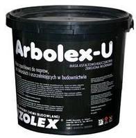 Битумно-каучуковая мастика для ремонта и для герметизации Арболекс У / Arbolex U (уп.5 кг)