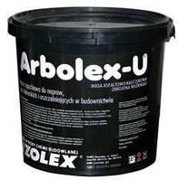 Битумно-каучуковая мастика для ремонта и для герметизации Арболекс У / Arbolex U (уп.10 кг)