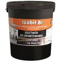 Изобит БР / Izobit BR -  битумно-каучуковая мастика-Праймер на растворители (уп. 9 кг)