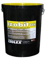 Мастика битумно-каучуковая на основе растворителей Изобит ДК / Izobit DK  (уп.5кг)