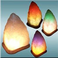 Соляной светильник «Скала» 3-4кг цветная лампочка