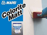 Краска акриловая Колорит Мат Белая / Colorite Matt Bianco (уп. 5 кг)