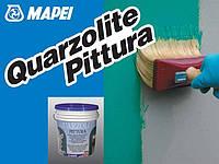 Воднодисперсионная акриловая краска Quarzolite Paint / Кварцолит Пейнт База Р (уп 5 кг)