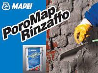 Осушающий теплоизоляц. мат., сульфатостойкий Поромап Ринзаффо / PoroMap Rinzaffo (уп. 20 кг)
