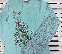 Женская пижама со штанами Nicoletta большие размеры размер XL,2XL,3XL