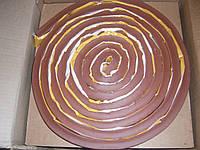 Шнур бентонитовый Гидростоп-3, круглого сечения d 22 мм (рулон 5 м.п.)