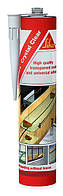 Прозр. универс. клей-герметик на основе MS СикаФлекс Кристал Крил/Sikaflex Crystal Clear (300 мл), прозрачный