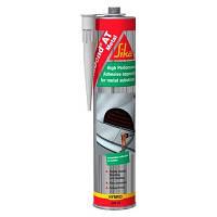 Эластич. клей для склеивания металла СикаБонд АТ Металл/SikaBond AT Metal (уп. 300 мл) серый