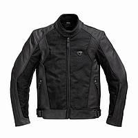 Мотокуртка Revit Ignition 2 черная кожа / текстиль, 52