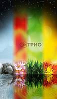 """Обогреватель настенный пленочный картина Трио """"Четыре сезона"""""""