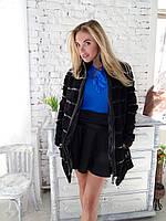 Пальто каракулевое куртка 42 размера черная каракульча