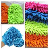 Варежка для уборки и полировки-микрофибра