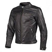 Мото куртка Segura Iron кожа перфорированная черная, XL