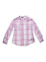 Рубашка розовая 7-8лет (Д)