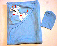 Уголки-полотенца махровые для купания деток.